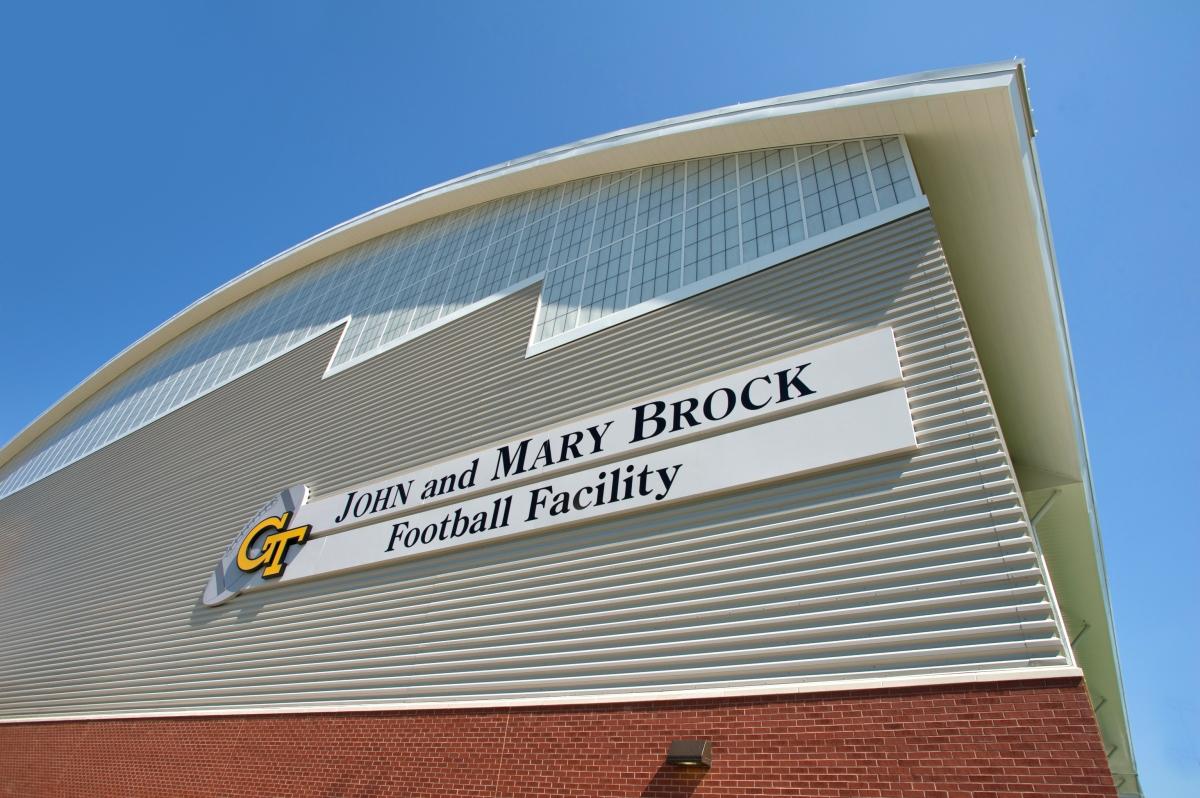 GT Football practice facility
